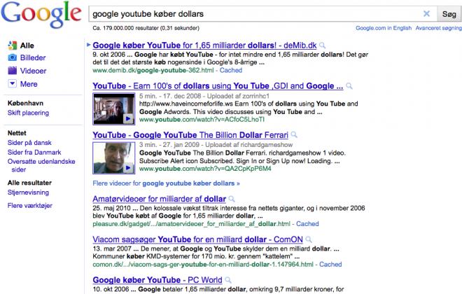 brug altid google